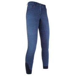Bryczesy HKM Summer Denim...