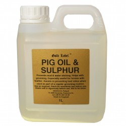 Pig oil and sulphur Gold...